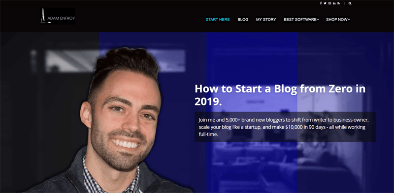 adam enfroy blog