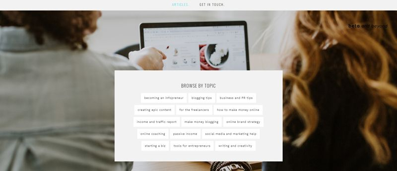 beta and beyond blog