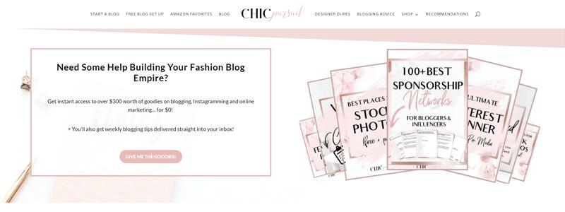 chic pursuit blog