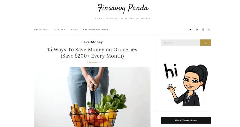 finsavvy panda blog