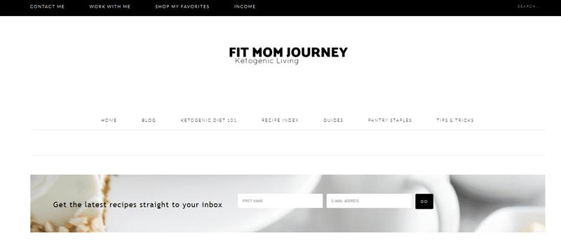 fit mom journey blog