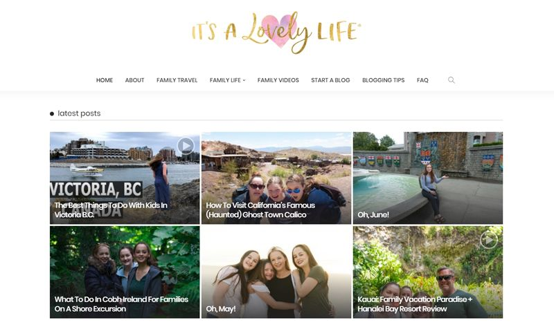 its a lovely life blog