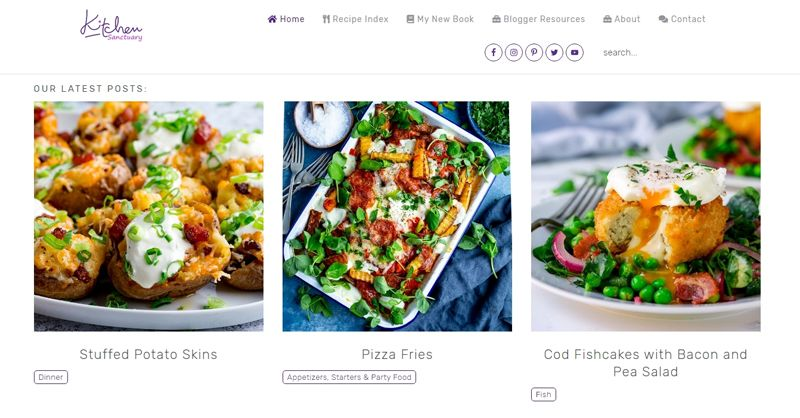 kitchen sanctuary blog