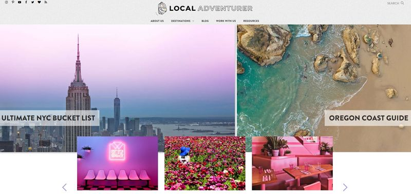local adventurer blog