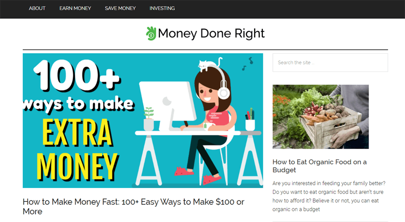 money done right blog