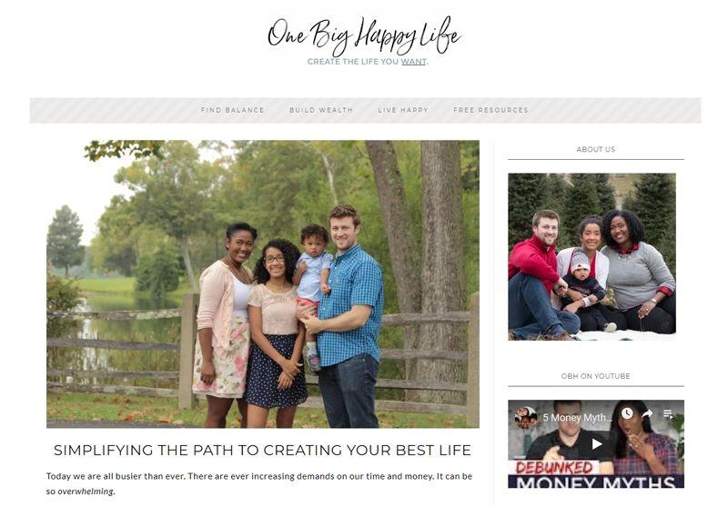one big happy life blog