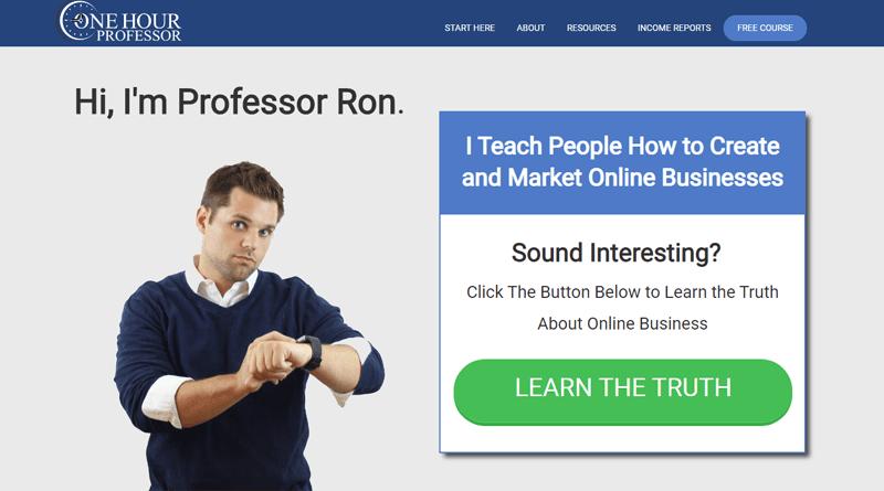 one hour professor blog