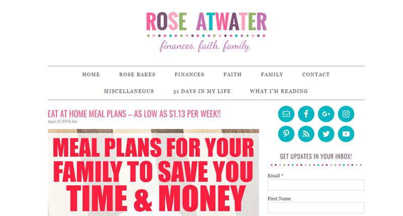 rose atwater blog