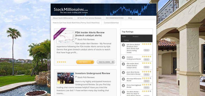 stock millionaires blog