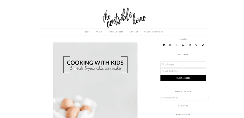 the centsible home blog