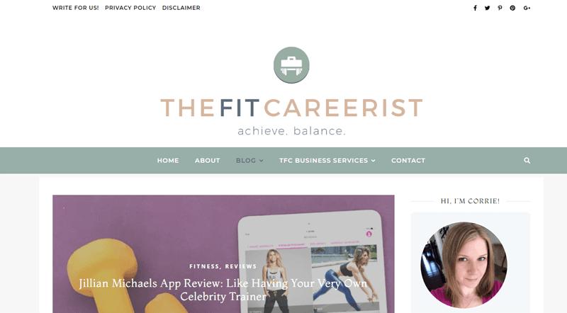 the fit careerist blog