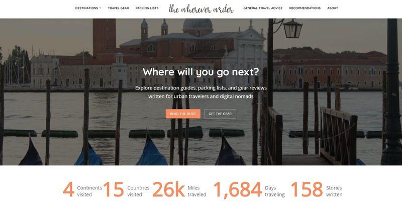 the wherever writer blog