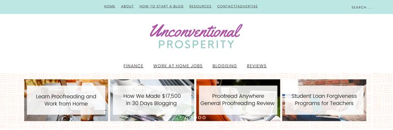 unconventional prosperity blog