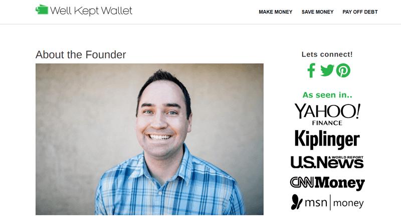 well kept wallet blog