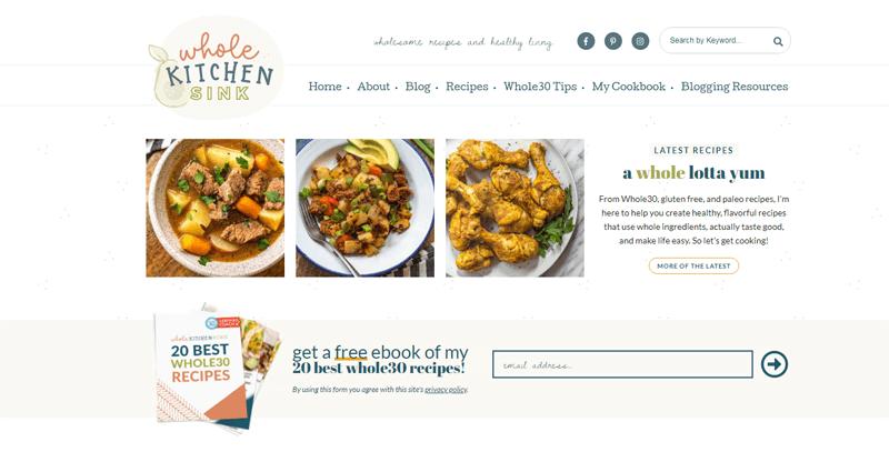 whole kitchen sink blog